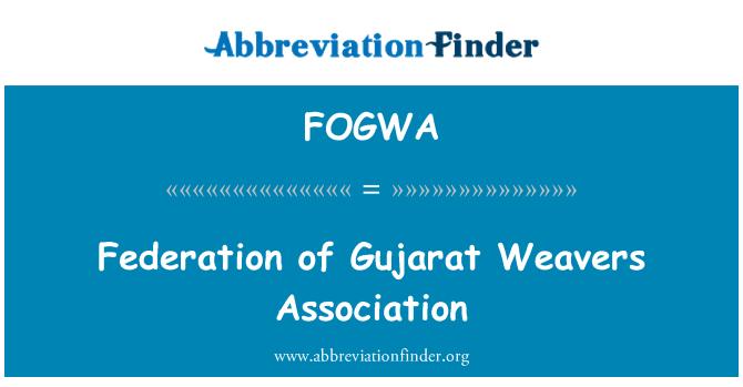 FOGWA: Federation of Gujarat Weavers Association