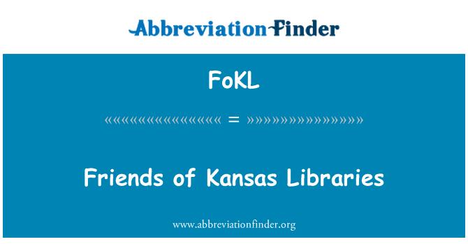 FoKL: Friends of Kansas Libraries