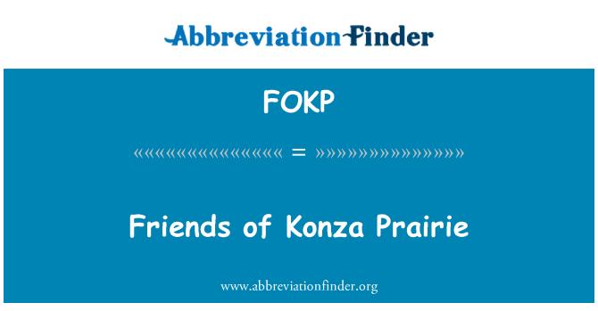 FOKP: Friends of Konza Prairie