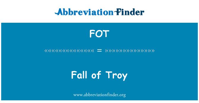 FOT: Fall of Troy