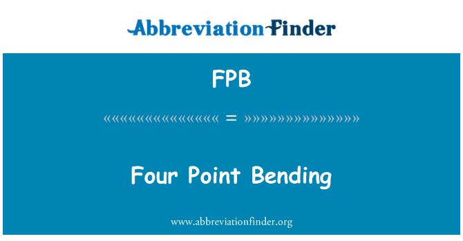 FPB: Four Point Bending