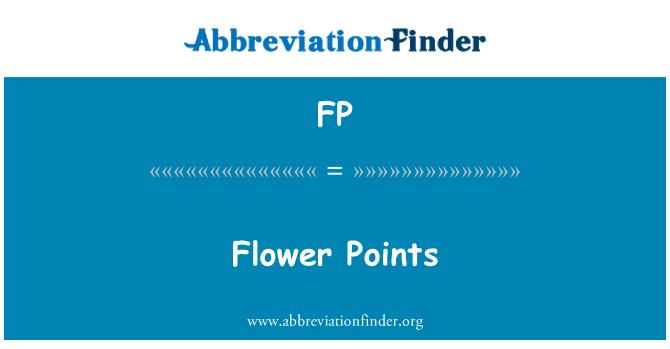 FP: Flower Points