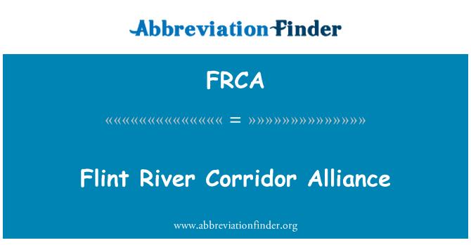 FRCA: Río Flint corredor Alianza