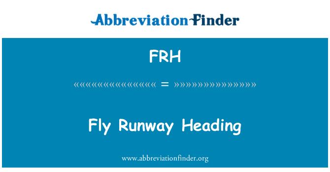 FRH: Fly Runway Heading