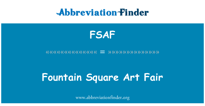 FSAF: Feria de arte de la Plaza de la fuente