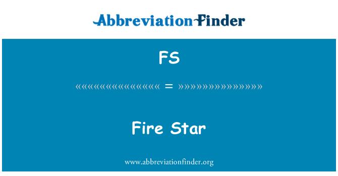 FS: Fire Star