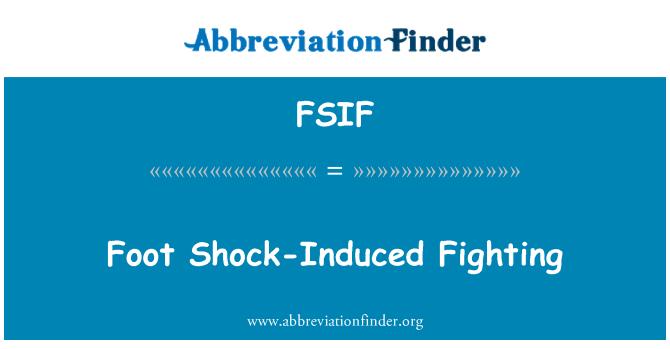 FSIF: Şok kaynaklı mücadele ayak