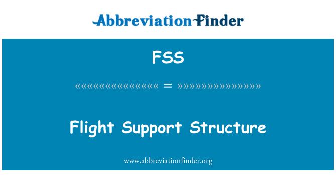 FSS: Flight Support Structure