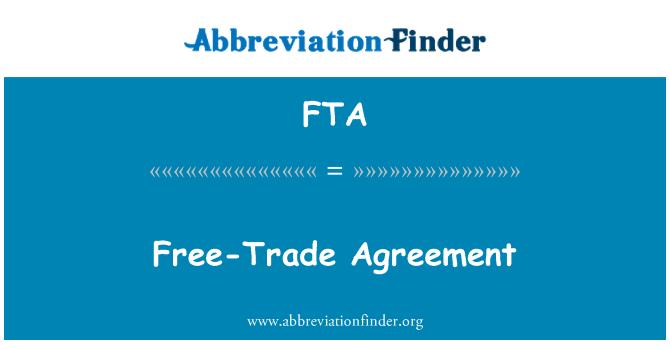FTA: Free-Trade Agreement