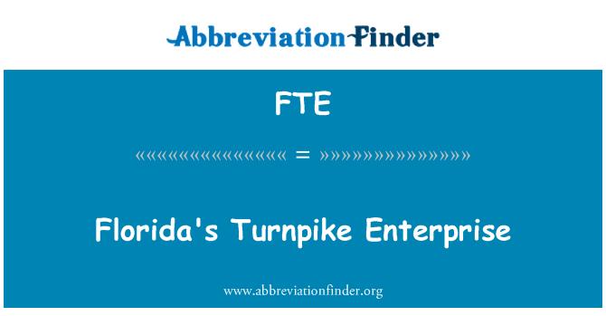 FTE: Florida's Turnpike Enterprise