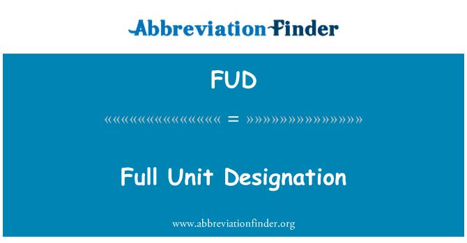 FUD: Tam birim atama