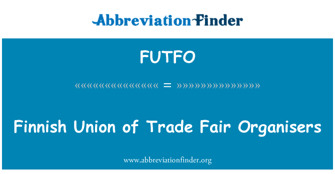 FUTFO: Finnish Union of Trade Fair Organisers