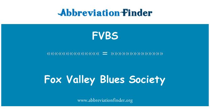 FVBS: Fox Valley Blues Society