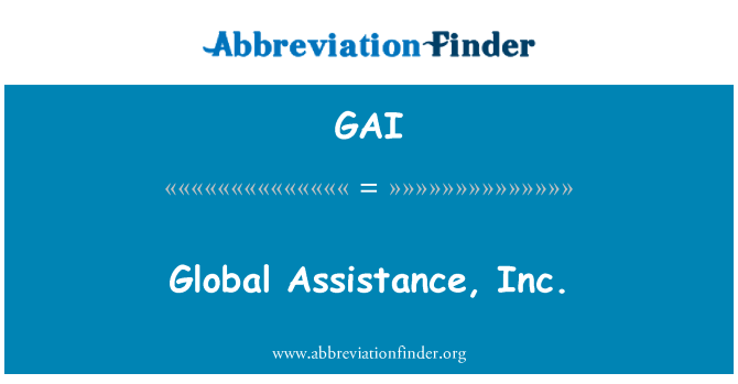 GAI: Global Assistance, Inc.