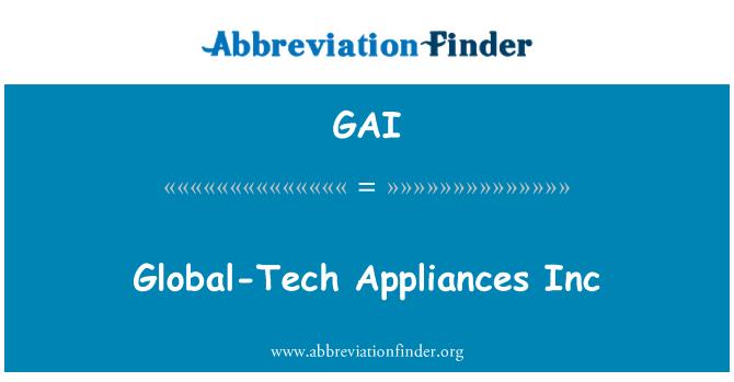 GAI: Global-Tech Appliances Inc