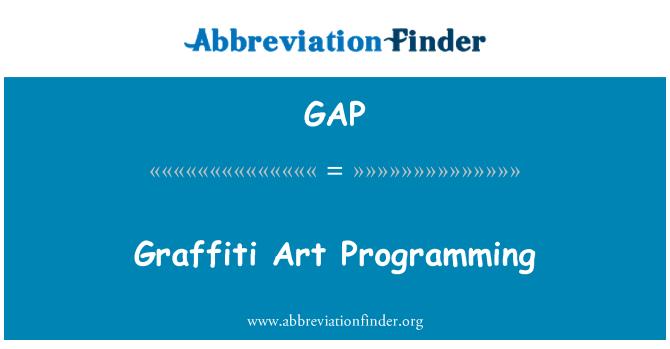 GAP: Graffiti Art Programming
