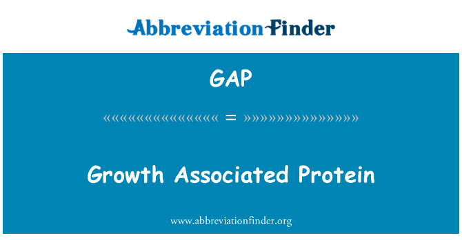 GAP: Growth Associated Protein