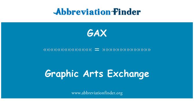 GAX: Graphic Arts Exchange