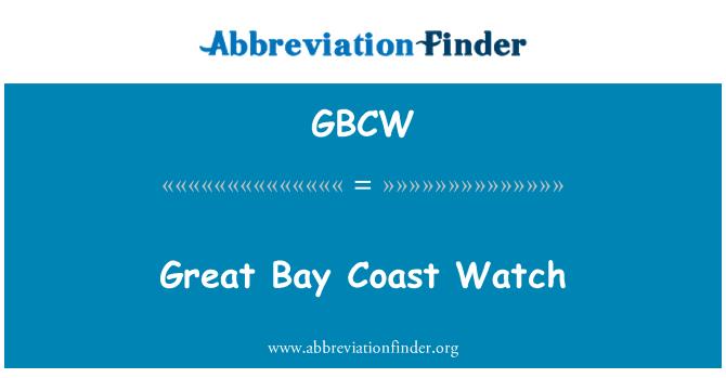 GBCW: Pantai Teluk besar Watch