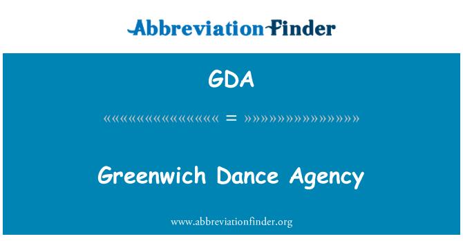 GDA: Greenwich Dance Agency