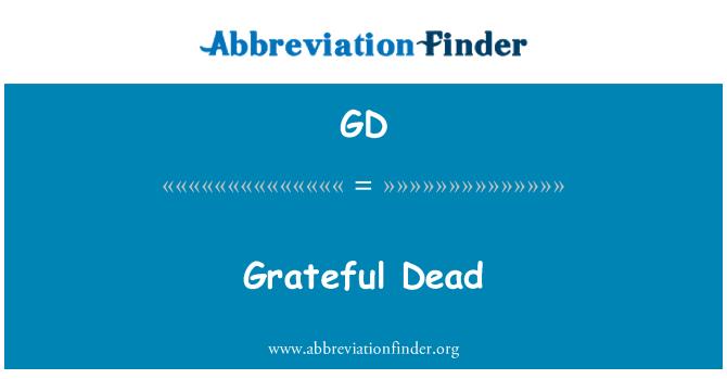 GD: Grateful Dead