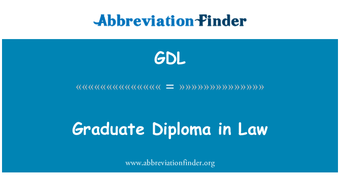 GDL: Graduate Diploma in Law