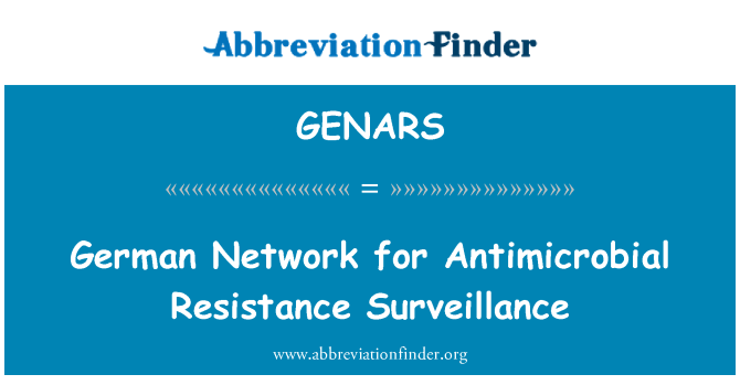 GENARS: German Network for Antimicrobial Resistance Surveillance