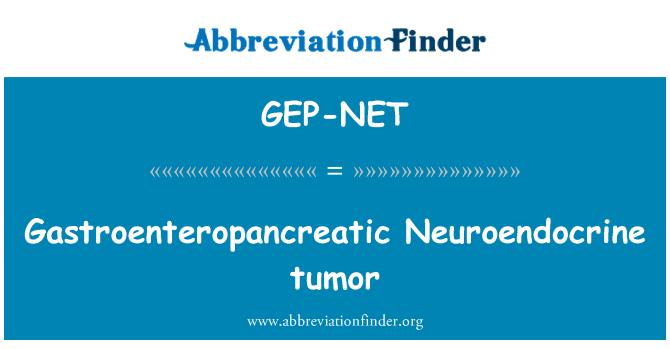 GEP-NET: Gastroenteropancreatic Neuroendocrine tumor