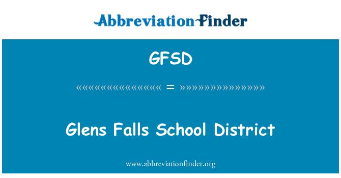 GFSD: Distrito Escolar de Glens Falls