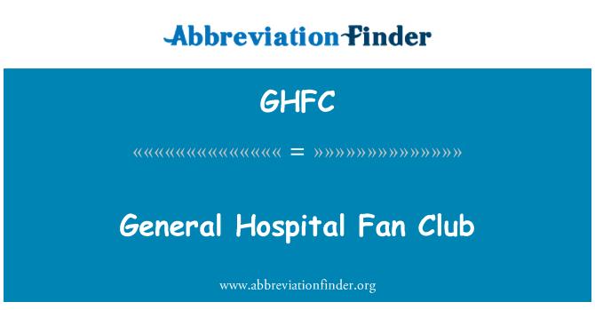 GHFC: General Hospital Fan Club