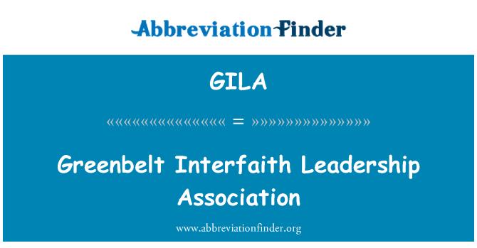 GILA: Greenbelt Interfaith Leadership Association