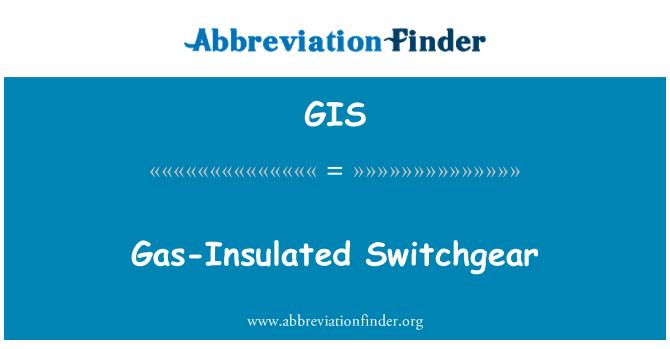 GIS: Gas-Insulated Switchgear