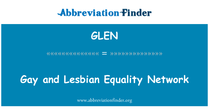 GLEN: Gay and Lesbian Equality Network