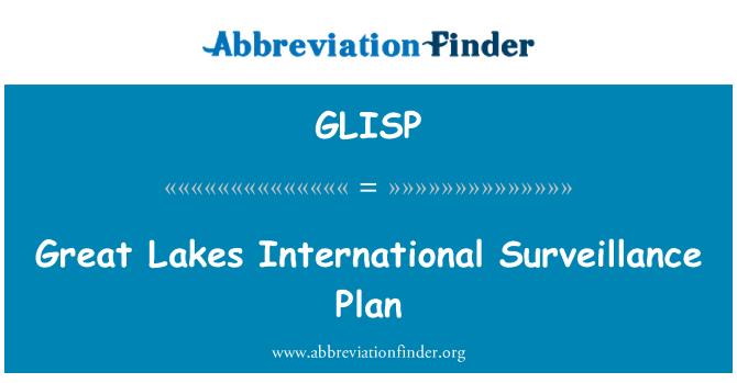 GLISP: Plan de vigilancia internacional de los grandes lagos