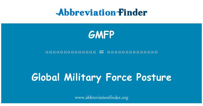 GMFP: Küresel askeri gücü duruş