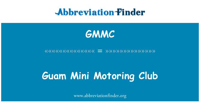 GMMC: Guam automovilismo Mini Club