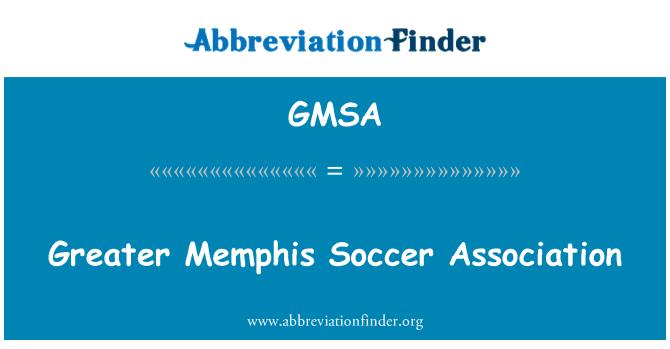 GMSA: Greater Memphis Soccer Association