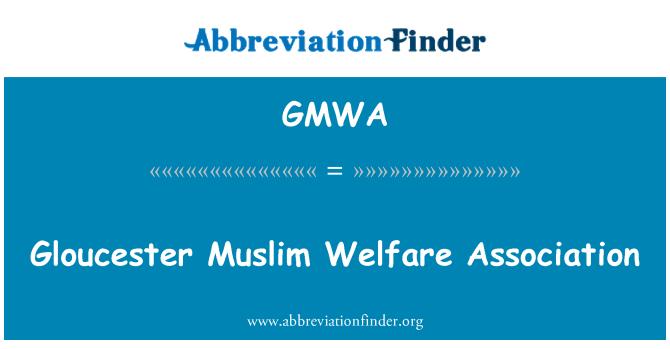 GMWA: Gloucester Muslim Welfare Association