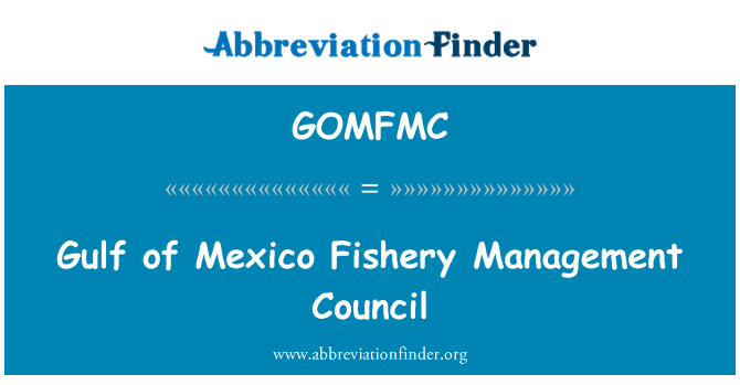 GOMFMC: Gulf of Mexico Fishery Management Council