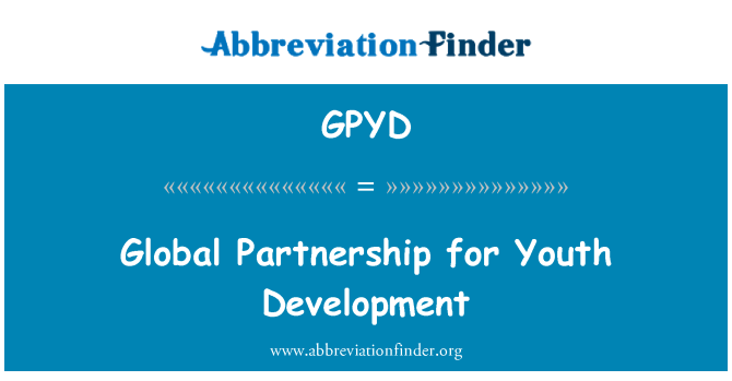 GPYD: Global Partnership for Youth Development