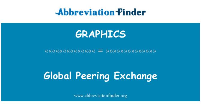 GRAPHICS: Global Peering Exchange