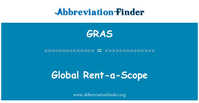 GRAS: Alquiler-a-ámbito global