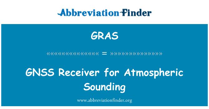 GRAS: Receptor GNSS para sondeo atmosférico