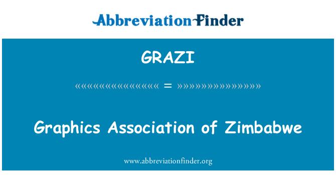 GRAZI: Graphics Association of Zimbabwe