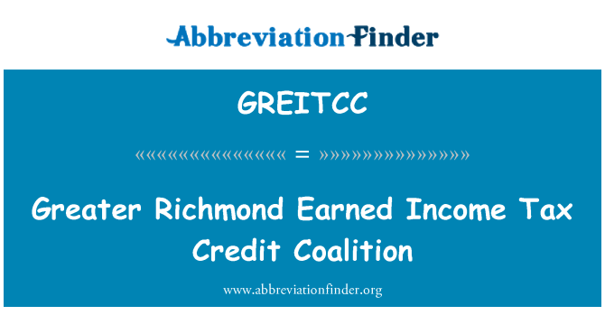 GREITCC: Greater Richmond Earned Income Tax Credit Coalition