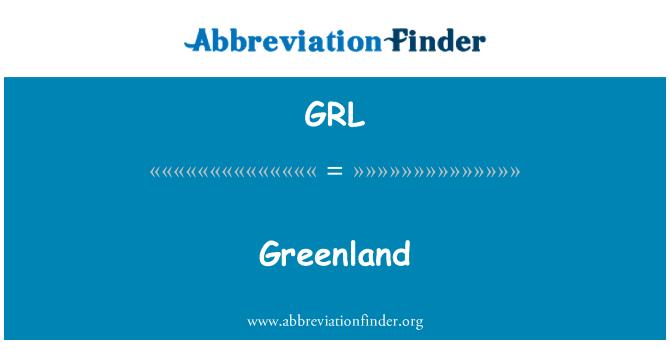 GRL: Greenland