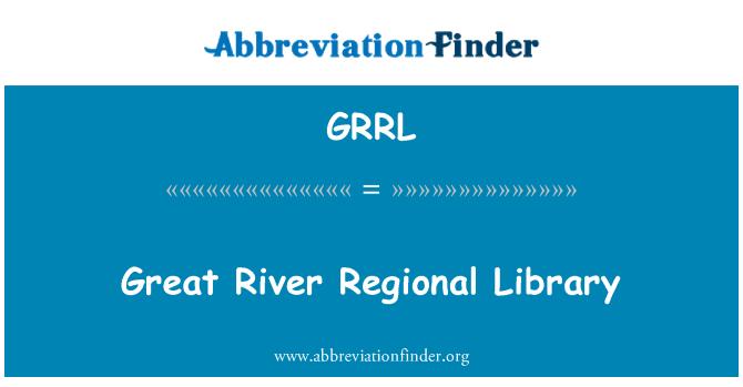 GRRL: Great River Regional Library
