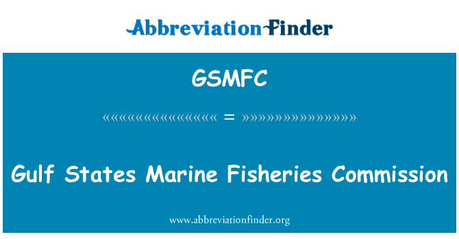 GSMFC: Gulf States Marine Fisheries Commission
