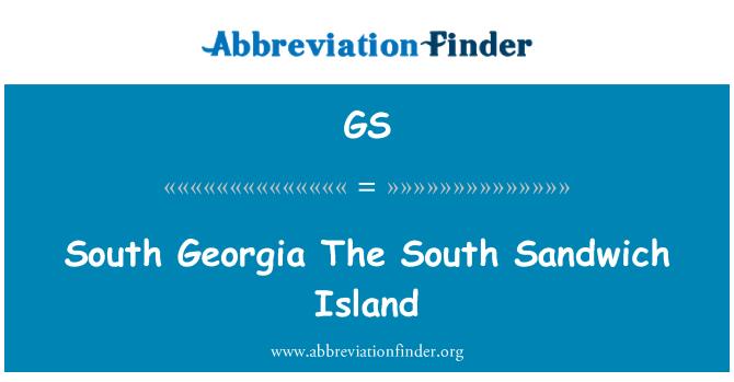 GS: 南格鲁吉亚南桑威奇岛