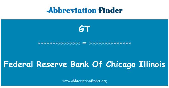 GT: 美国伊利诺斯州芝加哥联邦储备银行